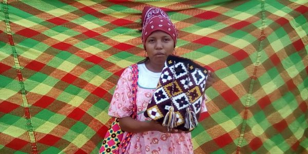 Beti, artisane Wayuu et soeur de Lusi