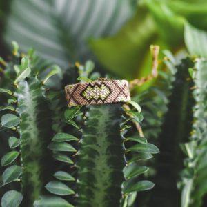 Bracelet Wayuu modèle Cocodrilo