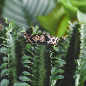 Bracelet Wayuu modèle Tortuga