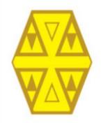 Ensemble de losanges et triangles